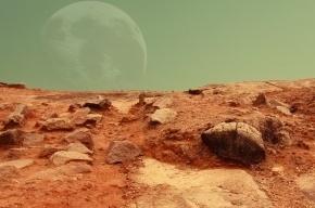 NASA показало снимок Марса с местом посадки НЛО