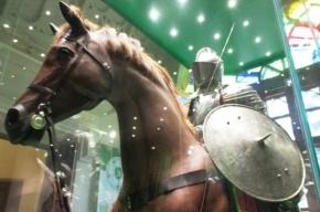 Царскосельский Арсенал и рыцари в доспехах