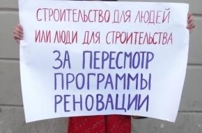 Горожан снова призывают пикетировать Невский против строительного беспредела