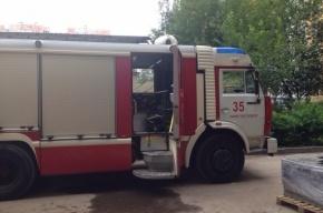 Пожарные спасли детей из горящего дома на Маршала Захарова