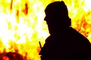 Пожарные спасли мужчину из горящей квартиры на Краснопутиловской улице