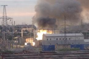 Спасатели локализовали пожар на подстанции «Западная»