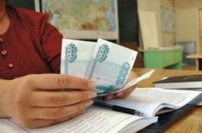 Зарплата петербургских учителей выше средней по городу на 3%