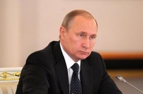 Путин в Петербурге провел заседание Совета безопасности