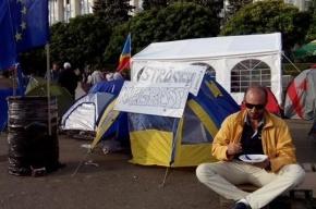 Власть Молдавии снесла местный «майдан»