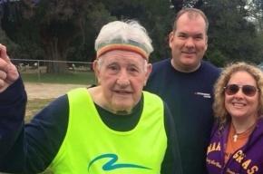 Ветеран Второй мировой войны в 93 года пробежал через все США
