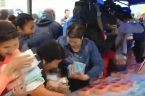 Якутские чиновники съели торт в 300 кг, предназначенный для детдомовцев