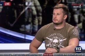 Командир «Азова» появился на телевидении с призывом убивать сепаратистов