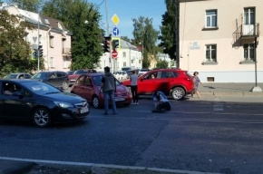 Пешехода сбили на улице Савушкина