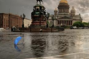 Шторм приближается к Петербургу