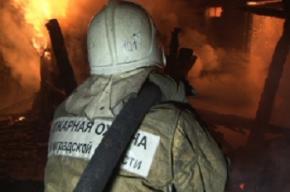 Спасатели эвакуировали 20 человек из горящего дома на проспекте Королева