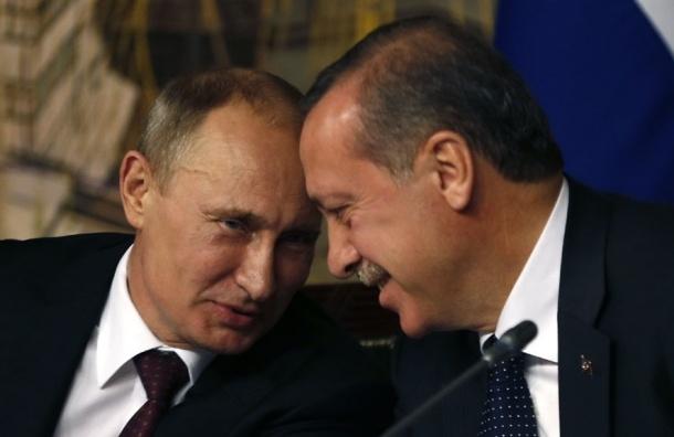 Эрдоган назвал Путина своим другом