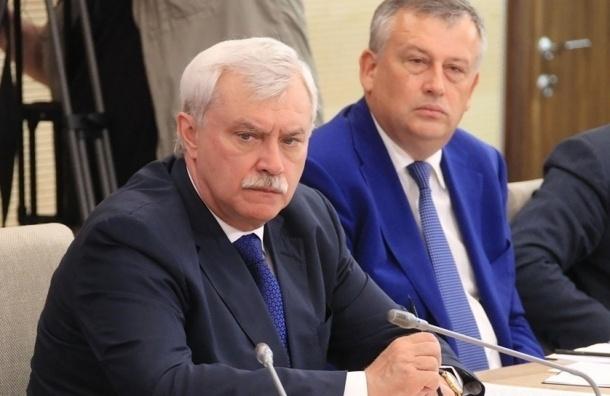 СМИ В Кремле готовятся к увольнению губернатора Петербурга