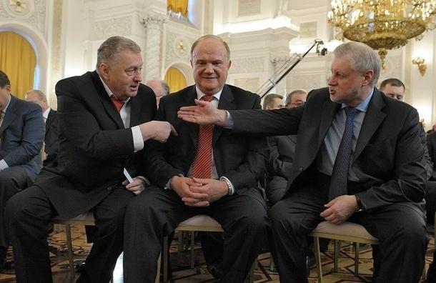 Жириновский предложил создать в России трехпартийную систему