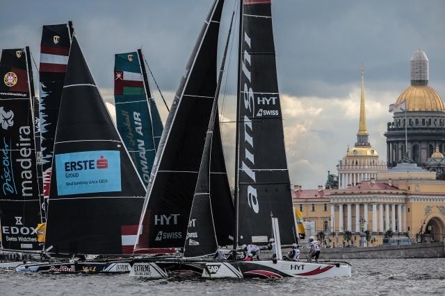 Гонки Extreme Sailing Series, фото: Игорь Руссак: Фото