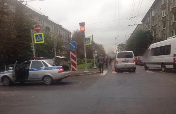 Девочку сбили на пешеходном переходе в Кировском районе