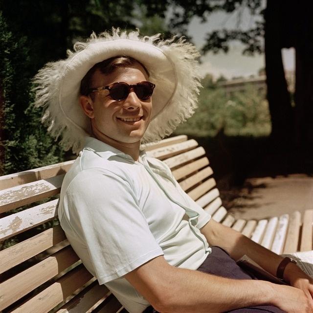 _Юрий Гагарин в Сочи. 1961г.