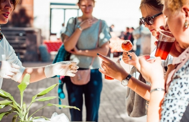 В Петербурге пройдет «День яблок»