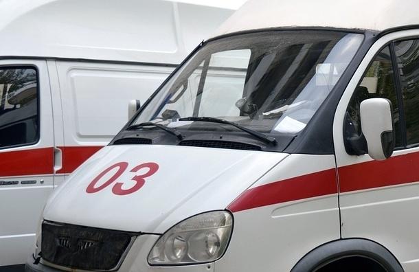 Volkswagen сбил китаянку на Невском проспекте
