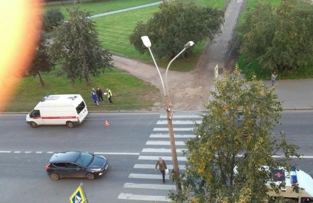 Свидетели: наДолгоозерской улице сбили женщину с сыном
