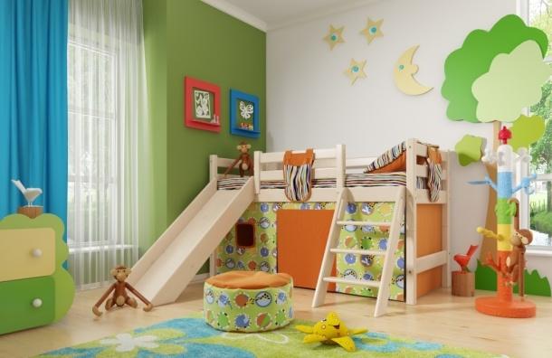 Мебель для детей в этом году пользуется повышенным спросом в Интернете