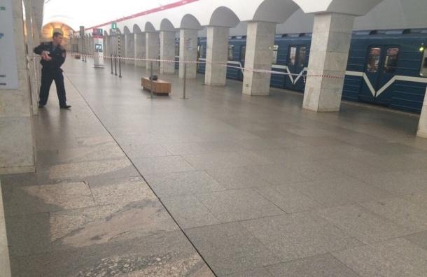 Станцию «Лесная» закрыли для пассажиров