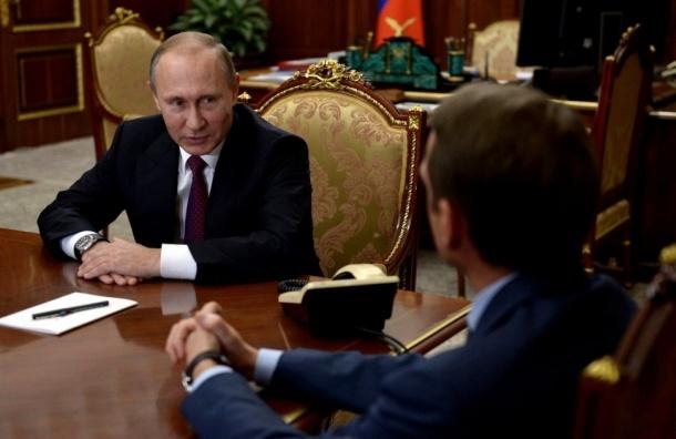 Путин извинился перед избирателями из-за Нарышкина