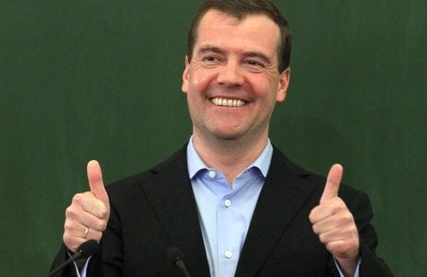 Медведев заявил о победе «Единой России» на выборах