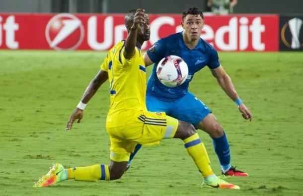 «Зенит» выиграл у «Маккаби», уступая в счете 0:3