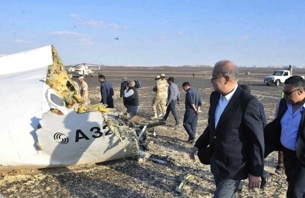 Эксперты определили место закладки бомбы в разбившемся над Синаем A321