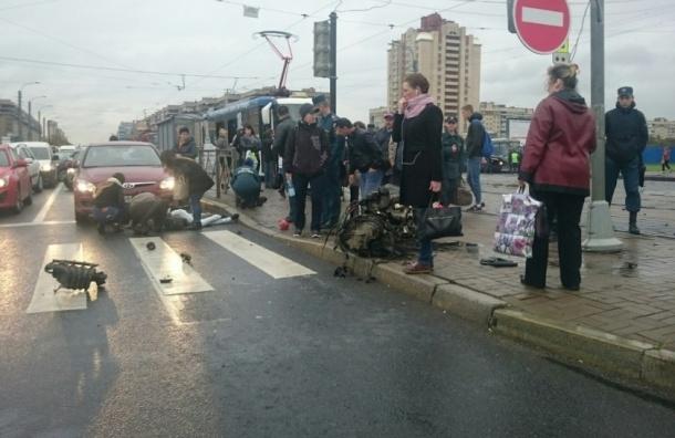 Стали известны подробности ДТП на Бухарестской с пешеходами