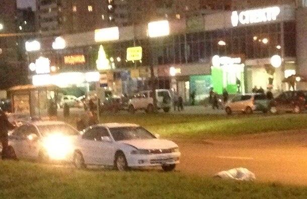 Женщину с собакой сбила машина на Караваевской улице