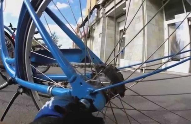 Жители Петербурга за рубль смогут брать велосипед в прокат