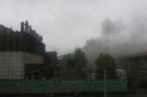 Загорелся цех Кировского завода