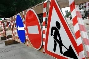 Движение машин ограничат по вантовому мосту КАД до октября из-за ремонта