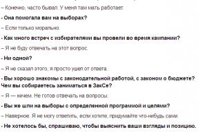 Будущий депутат петербургского ЗакСа ничем не планирует заниматься в парламенте