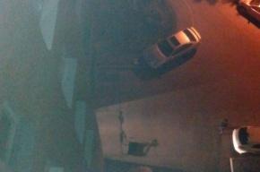 Петербуржец выбросил плазменный телевизор с верхнего этажа