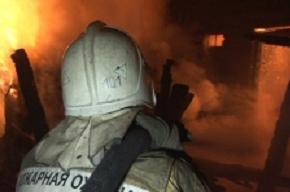 Ресторан сгорел на улице Оптиков
