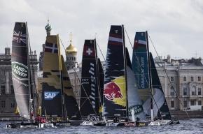 Гонки Extreme Sailing Series, фоторепортаж
