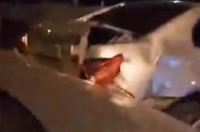 Надежда Савченко попала в аварию в Киеве