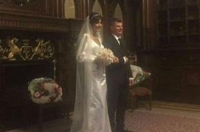 Аршавин женился на своей возлюбленной в Петербурге