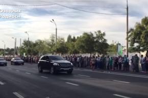 СМИ опубликовали видео прощания с Исламом Каримовым