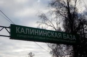 Очевидцы: труп неизвестного лежит около Калининской базы