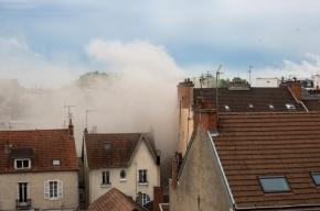 Взрыв прогремел во французском Дижоне