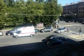 Ребенка на самокате сбили в центре Петербурга