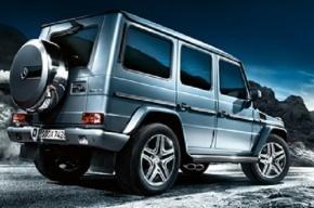 Mercedes Gelandwagen угнали во время тест-драйва в Петербурге