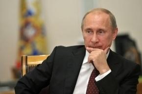 «Левада-Центр»: работой Путина довольны 82% россиян
