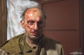 Около десяти мужчин напали на палаточный лагерь «Greenpeace России»