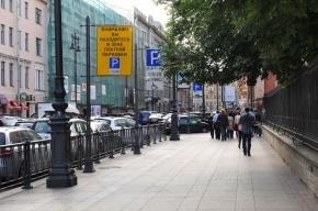 Более 40 млн ушло у петербуржцев на платную парковку