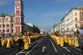 Курбан-байрам и Крестный ход перекроют движение в центре Петербурга